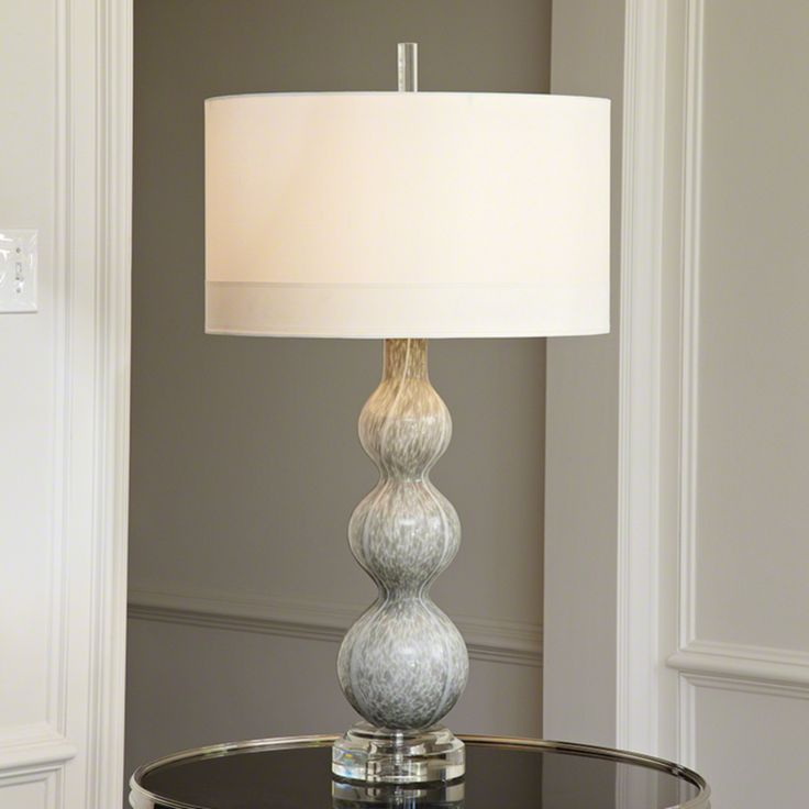 Global views cloud table lamp bring elegance and contemporary flair to your accent table by featuring the global views cloud table lamp