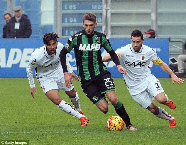 Juventus planning 20million swoop for Tottenham target Domenico Berardi
