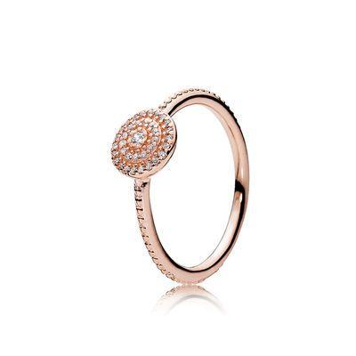 elegant rose gold ring