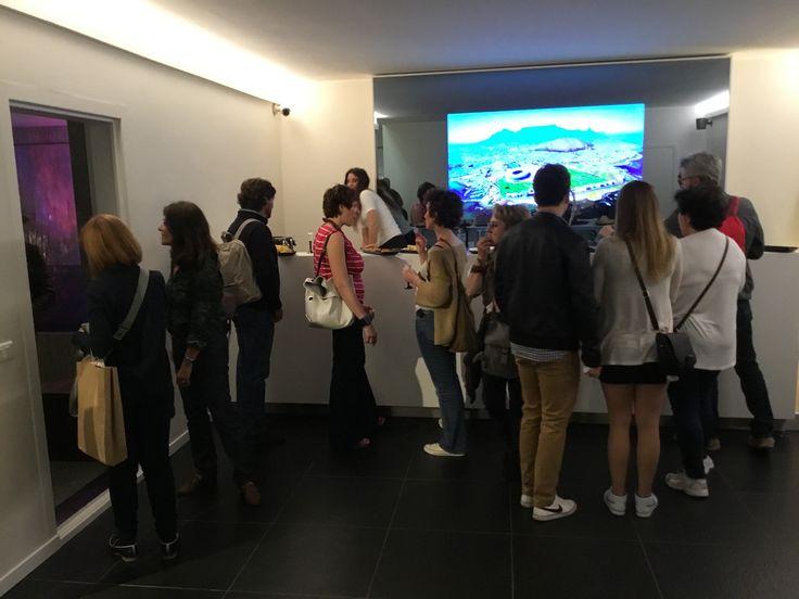 Enjoying the party! #MastellaDesign #mdw2016 #milandesignweek #milano #Fuorisalone2016 #salonedelmobile #cocktail #opening