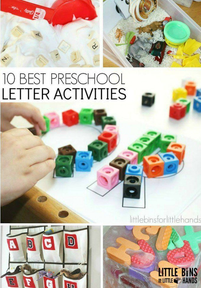 33 best images about preschool letters on pinterest for Educational crafts for preschoolers