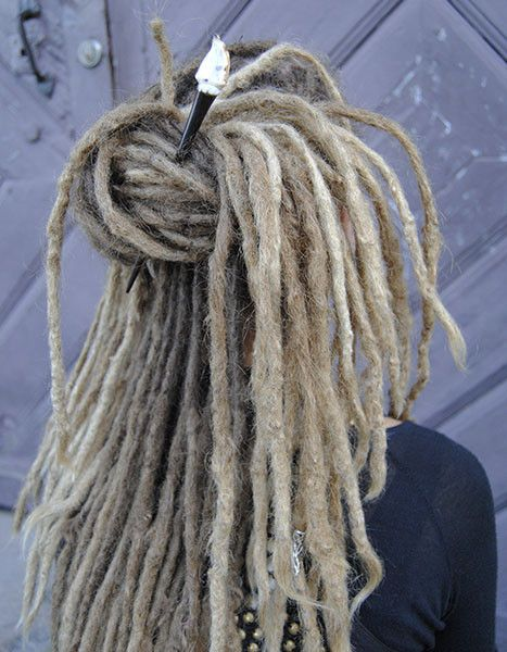 Are you looking for a new decoration for your dreadlocks?  We offer a wide range of hairsticks that are perfect to make simple dreadlock updos with. Now we offer FREE Shipping worldwide! Find our shop here: