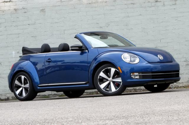 The 15 Least Expensive Convertibles You Can Buy: Volkswagen Beetle Convertible