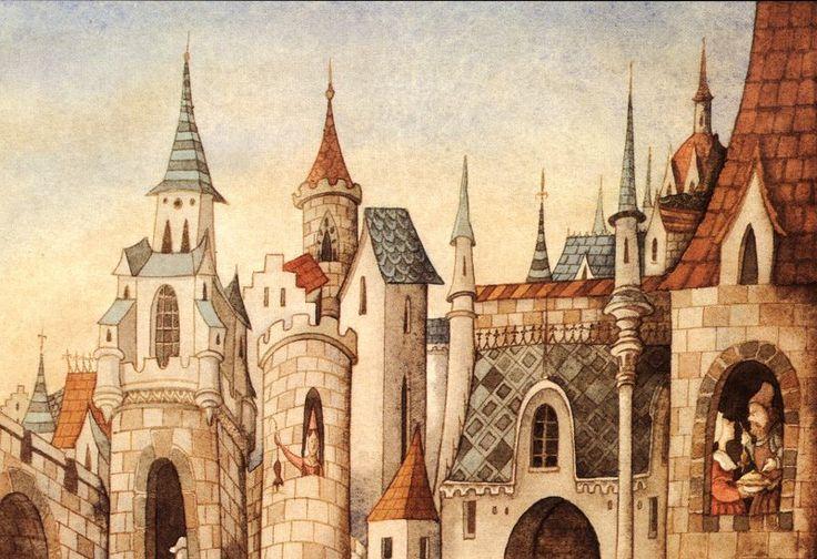 Конечно, мыши, крысы. Сотни крыс. О, город Гаммельн, как ты беспощаден - От флюгеров и черепичных крыш До мостовых, их выступов и впадин.