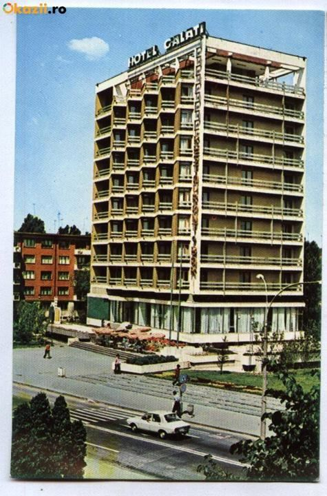 Hotel Galati, Galati, Romania, (postcard from the 80's)