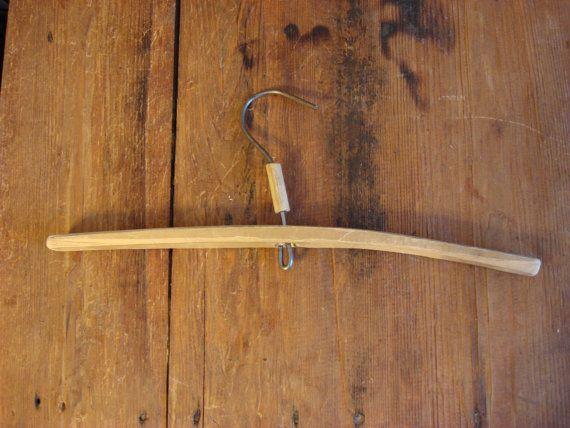 antique wooden hanger Clothes Hangers Antique от OldMoscowVintage