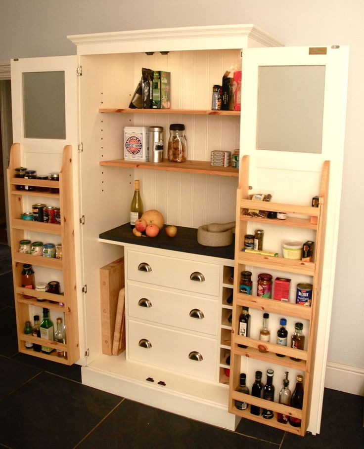 Pantry larder farrow and ball 1000mm wide internal for Kitchen cabinets 1000mm