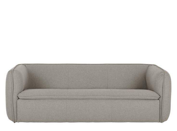 Berko 3 Seater Sofa, Marl Grey
