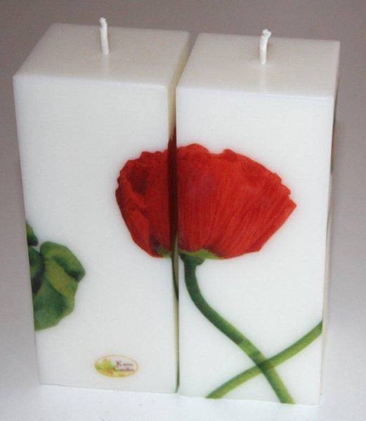Beautiful handmade candles