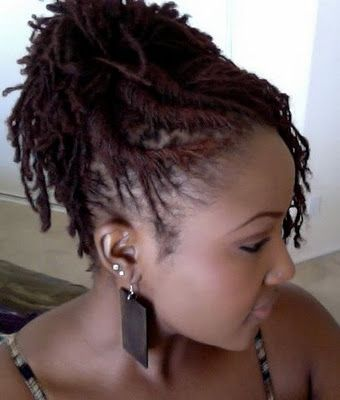 Sisterlocks Hairstyles 237 Best Sisterlocks Images On Pinterest  Dreadlock Hairstyles