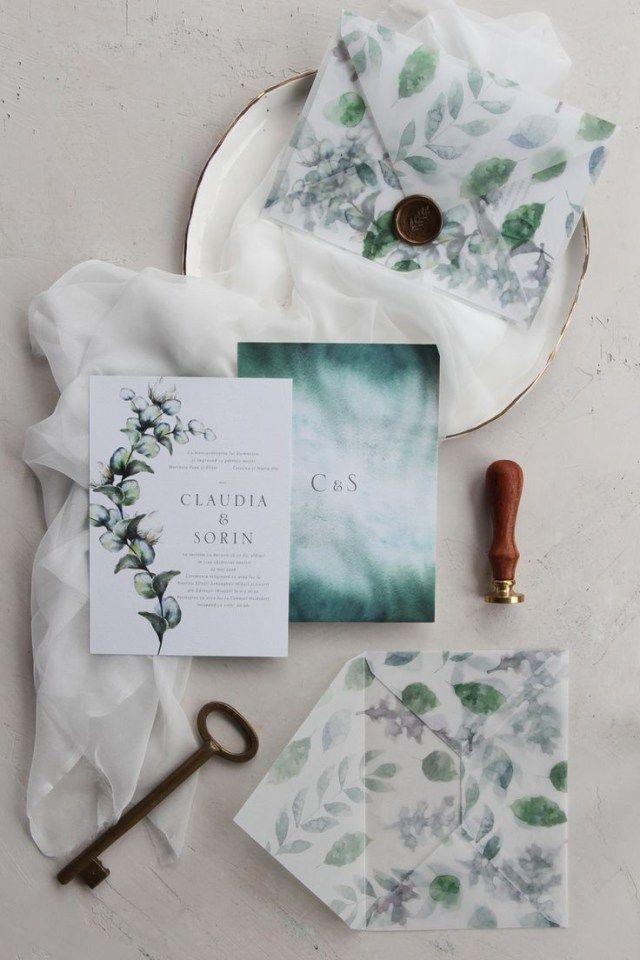 30 Elegant Image Of Pinterest Wedding Invitations Handmade