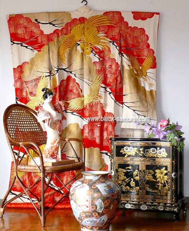 Wedding Decoration Japan: 17 Best Images About Kimono Decor And Display