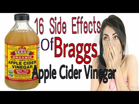 what are the side effects of drinking apple cider vinegar