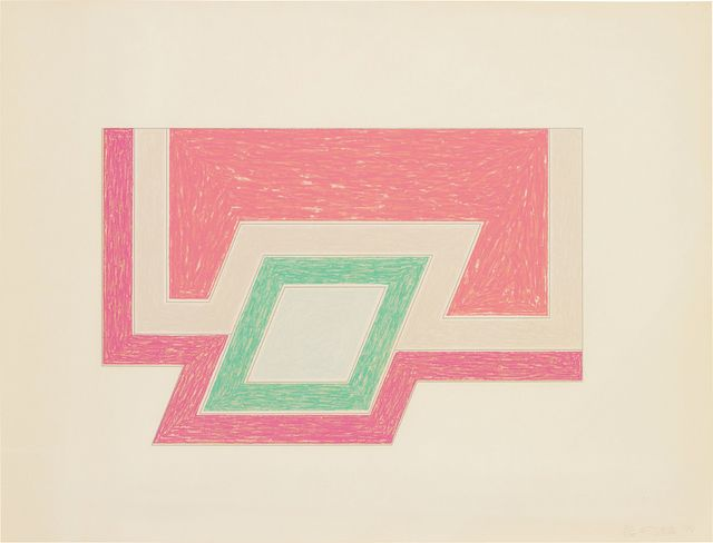Frank Stella, 'Conway, from Eccentric Polygons', 1974, Phillips: Evening and Day Editions (June 2017) | Artsy