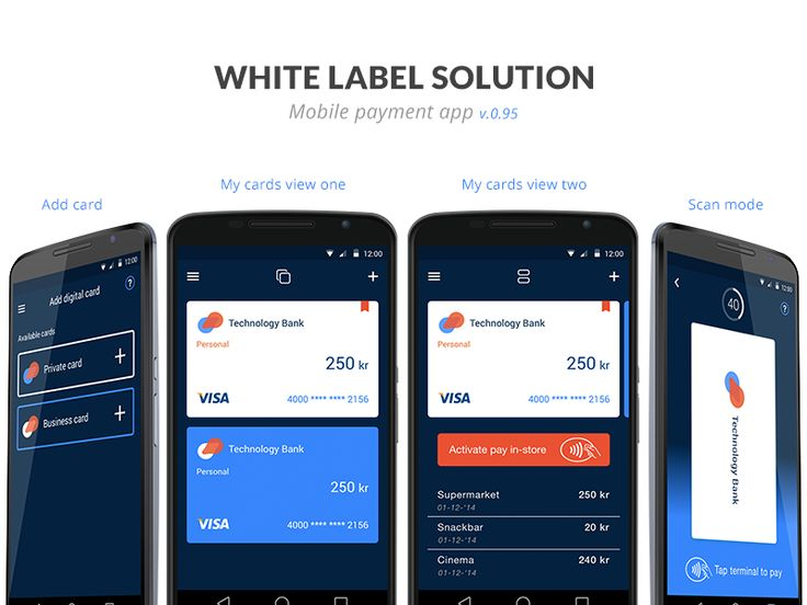 An alternative layout design to speak more to the elder users. Recognising the traditional cards will make the transition to mobile payment easier and establish more trust as it looks familiar.  I ...