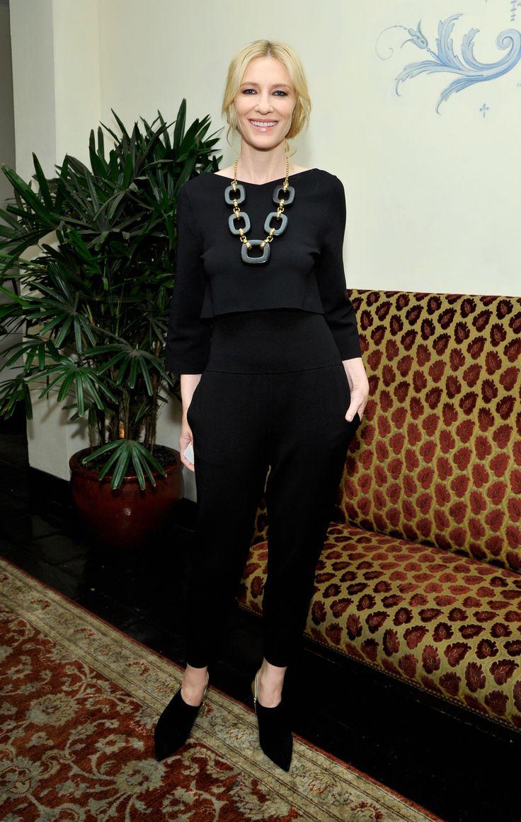 Cate Blanchett Watch: A Minimalist Vision in Stella McCartney