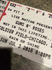 #Ticket 2 PIT GA FLOOR FIELD Guns N Roses HARD Tickets 7/3/16 Soldier Field Chicago #deals_us
