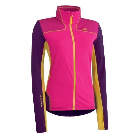 Het @karitraa Matilde #hardloopvest voor dames is lekker sportief en gemaakt van zacht fleecemateriaal. Dit kleurrijke vest geeft net die warmte die je nodig hebt tijdens het hardlopen op een koude dag.