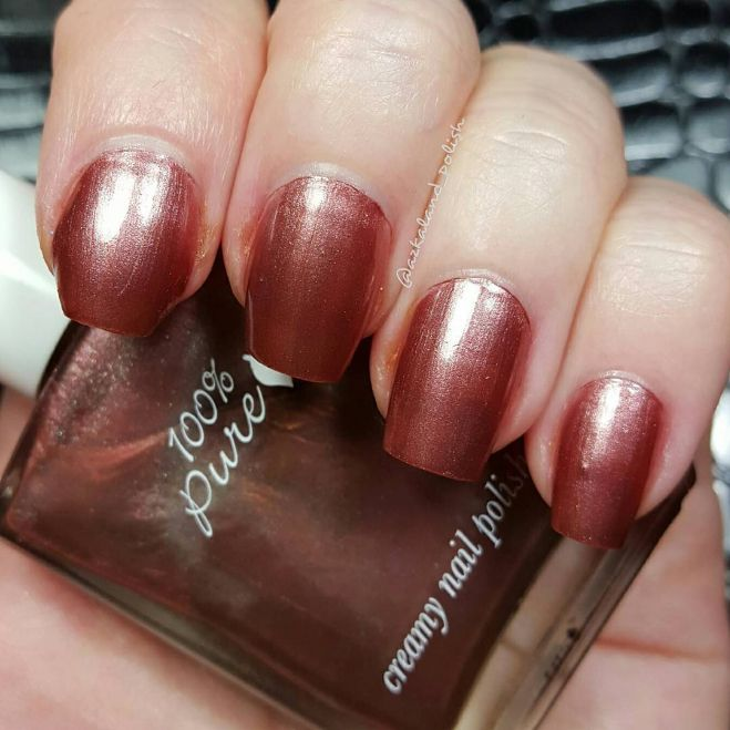 INGREDIENTS Does NOT contain the five common carcinogens in most nail polish: formaldehyde, toluene, DBP, camphor, and formaldehyde resin. Butyl Acetate, Ethyl Acetate, Nitrocellulose, Adipic Acid/Neopentyl Glycol/Trimellitic Anhydride Copolymer, Acetyl Tributyl Citrate, Isopropyl Alcohol, Styrene/acrylates Copolymer, Stearalkonium Bentonite, N-butyl Alcohol, Benzophenone-1, Silica, Alumina, Trimethylpentanediyl Dibenzoate, Polyvinyl Butyral. May Contain: Aluminum Powder, Bismu...