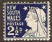 New South Wales 1897 2½d Deep violet. SG296a.