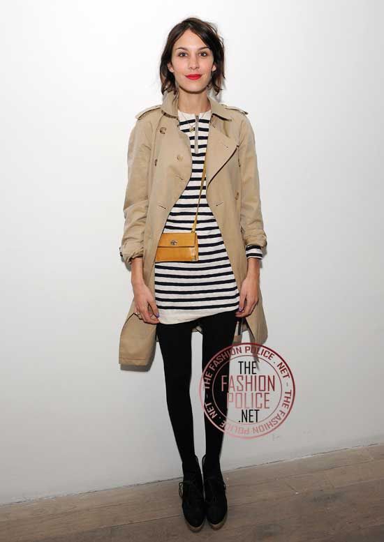 Trench coat = must-have! Alexa Chang, as always, pulls it off perfectly.
