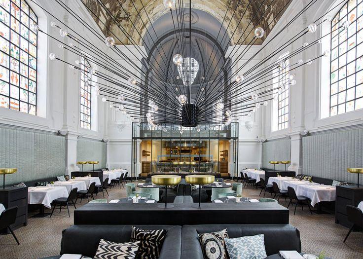 Эксклюзивный ресторан в бывшей часовне: хорошая еда – это новая религия