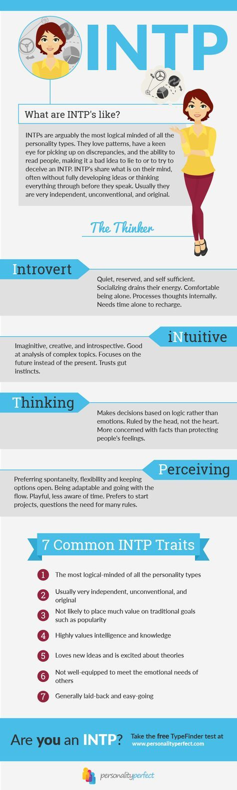 intp personality type mbti myers briggs
