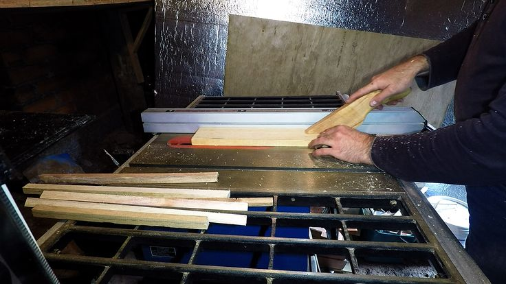 Tablesaw in use...