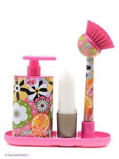 Set brush dispenser sponge VIGAR