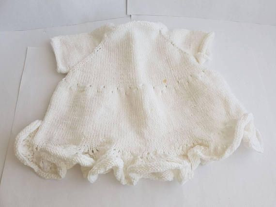 Check out this item in my Etsy shop https://www.etsy.com/listing/590819349/babygirl-dress-baptism-dress-knitted