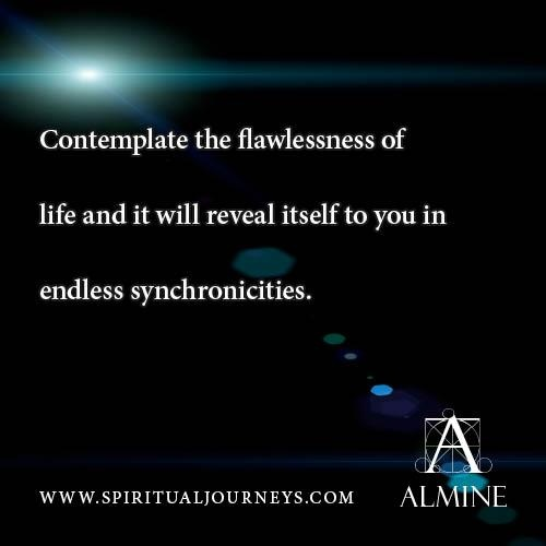 Endless synchronicities...