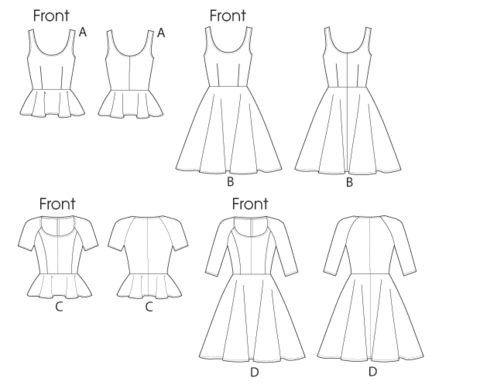 45 best Patterns! images on Pinterest | Sewing patterns, Dress ...