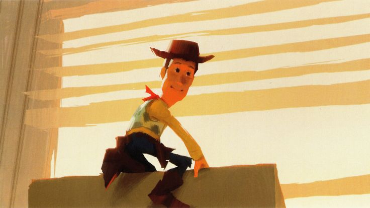 Toy Story 3 - Color scripts by Dice Tsutsumi