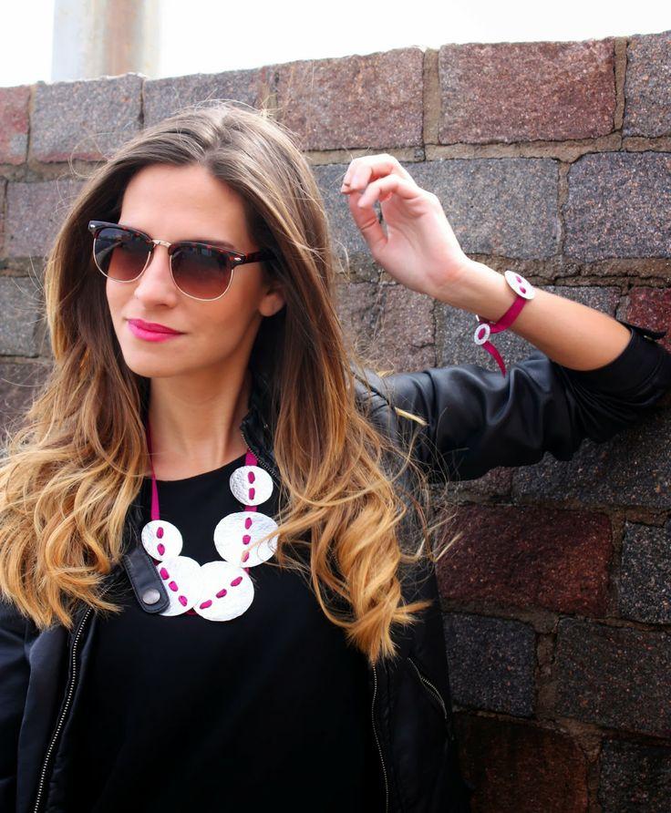 Trend Factory: Collar y pulsera de Tresporti serie Botones.