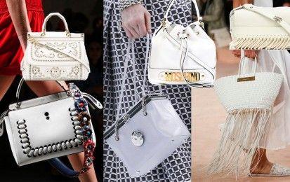 Tendenze Primavera/Estate 2016: le borse bianche [FOTO] - Candide e luminose, oltre che perfette per la bella stagione, sono le borse bianche, tra le maggiori tendenze primavera/estate 2016. Sfoglia la gallery per scoprire tutti i modelli must have.