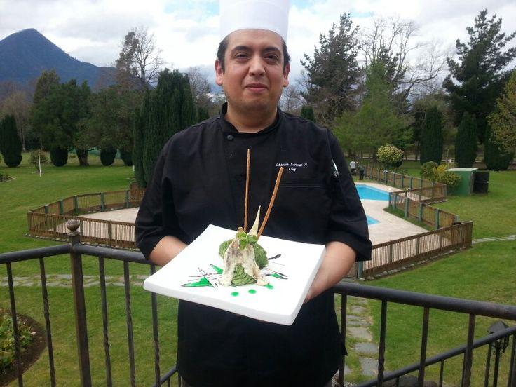 Chef Marcos Larenas Alvarado