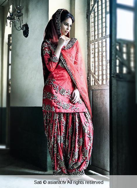 Bridal Salwar Kameez.