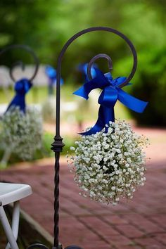 babys breath on shepards hooks - Google Search