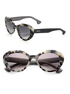Prada - 53 MM Cat's-Eye Sunglasses