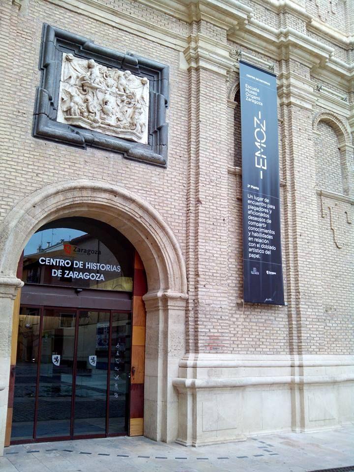 La escuela museo de origami de zaragoza emoz est for Piso zaragoza centro