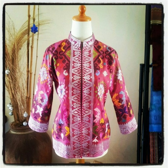 Bolero made from songket bali