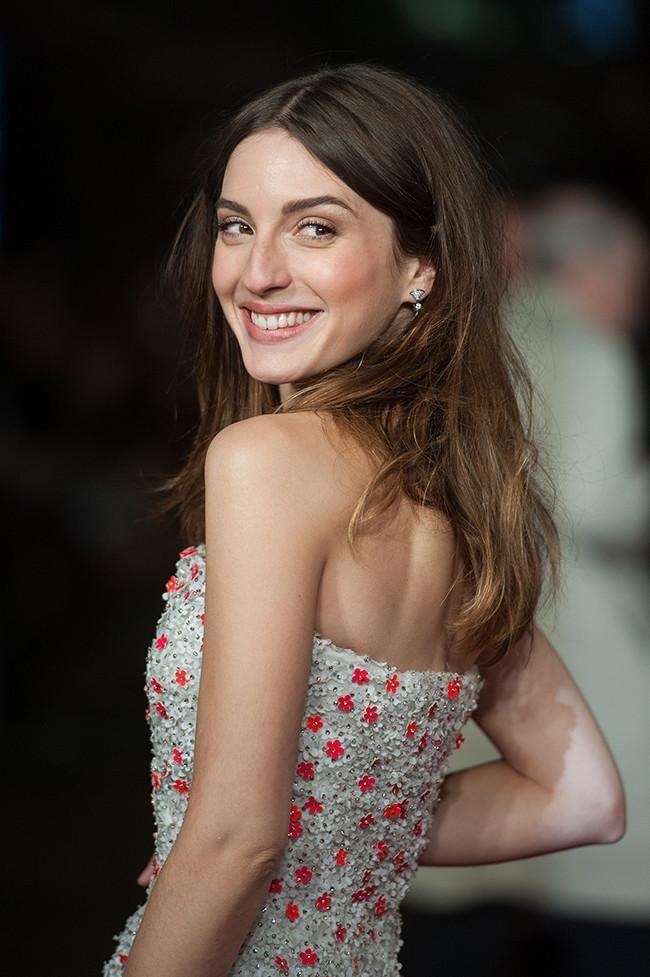 María Valverde on Nicholas Oakwell - Exodus London Premiere