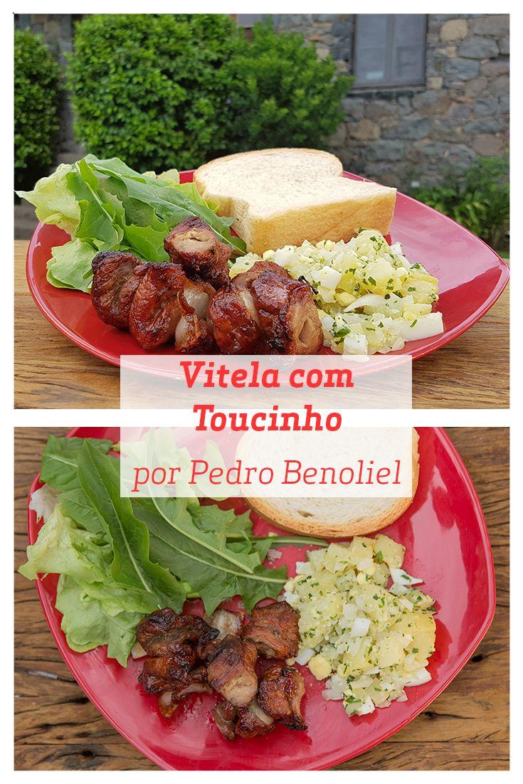 Quando estava em Bento Gonçalves, o Chef Pedro Benoliel conheceu esta receita de Vitela com Toucinho e Salada de Batata, que é uma ótima para um almoço de fim de semana. Experimente!