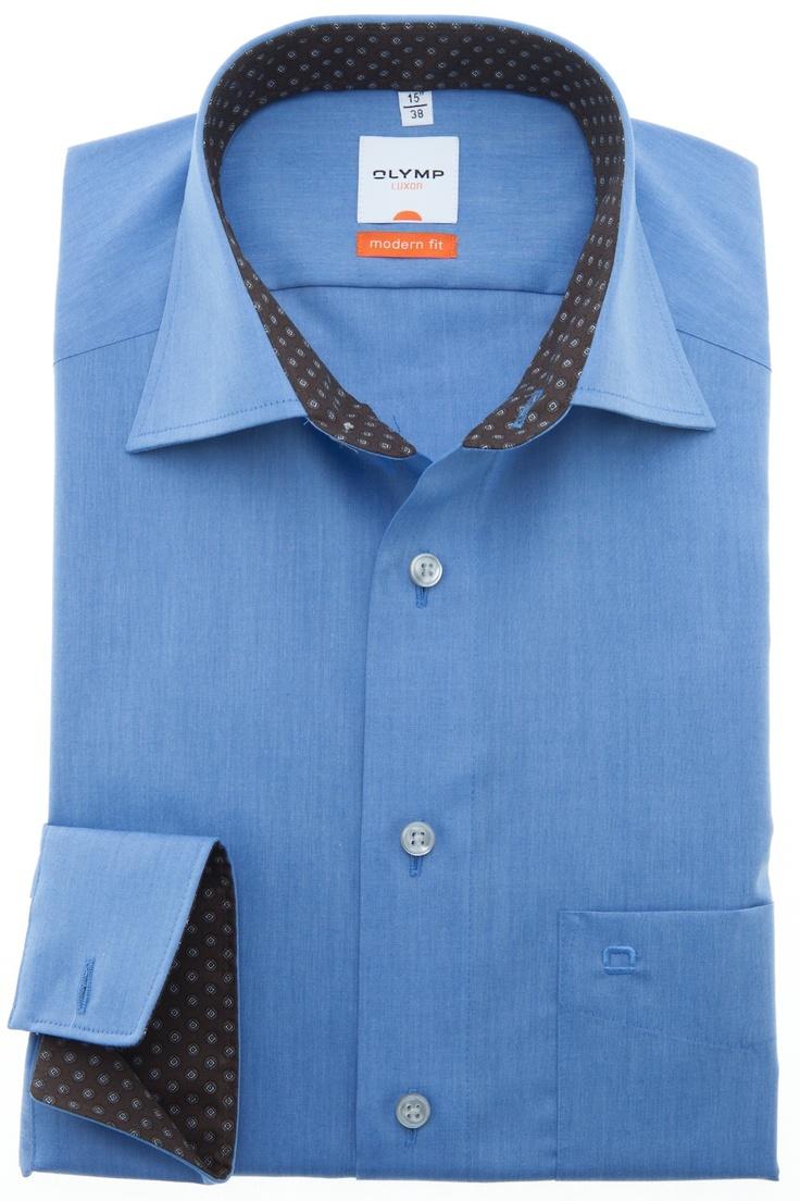 Olymp 6381-64-15V  Dit prachtige hemd is nu al het meest verkochte hemd van de nieuwe collectie. Deze hemden gaan erg hard en de voorraad is beperkt. Bekijk meer details op hemdenonline.nl