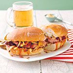 Grilled Kielbasa and Onion Sandwiches Recipe (ALL YOU June 2013)