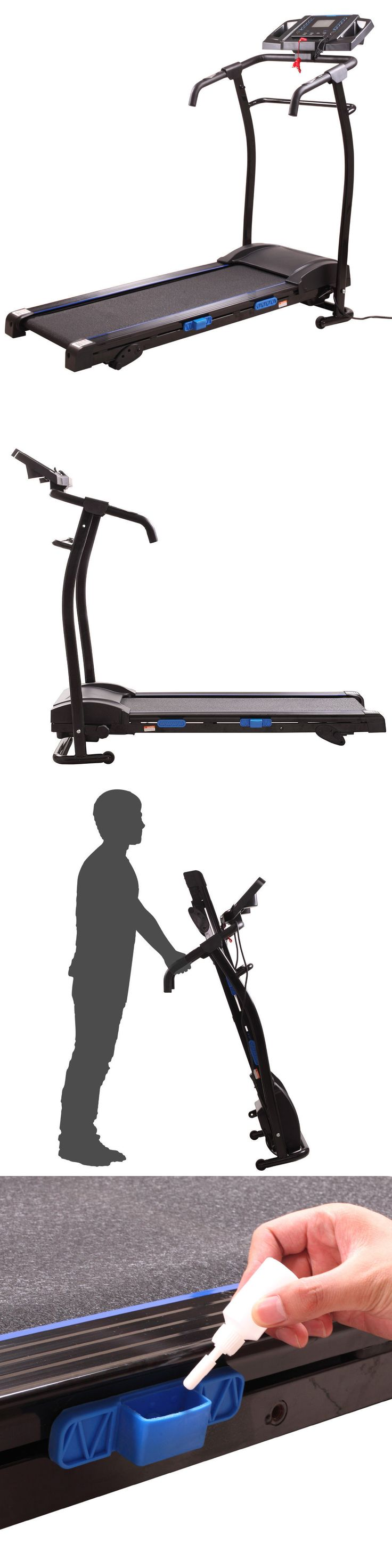Treadmills 15280: Treadmill Portable 1500W Folding Electric Motorized Running Gym Fitness Machine -> BUY IT NOW ONLY: $294.99 on eBay!