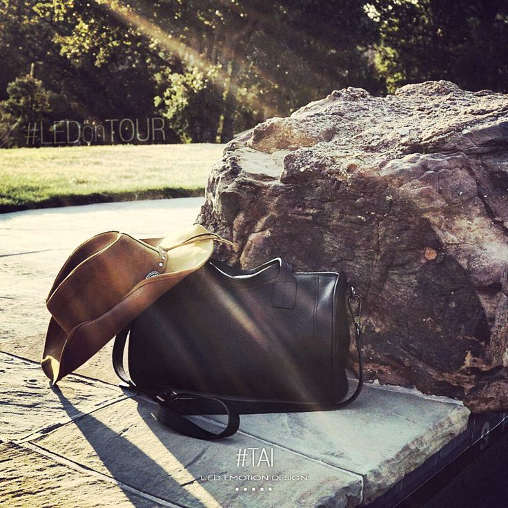 """Only the brave change their destiny"" ..#LED on tour! http://bit.ly/TAI_LED  #americantour #lovebags #bags #handbags #ledemotion"