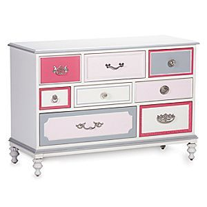 Wonderland Dresser | Disney Store Wonderland brings out the kid in everyone. Every one of the drawers of this Wonderland Dresser has a personality of its own, making it an eclectic piece that just dares you not to smile.