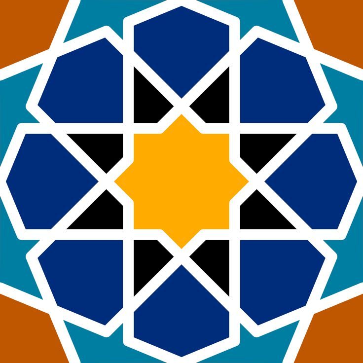Islamic pattern by @Lazur URH, Saw a recent topic at inkscapeforum on constructing such a tile with inkscape. Will try to break down the process to steps. , on @openclipart