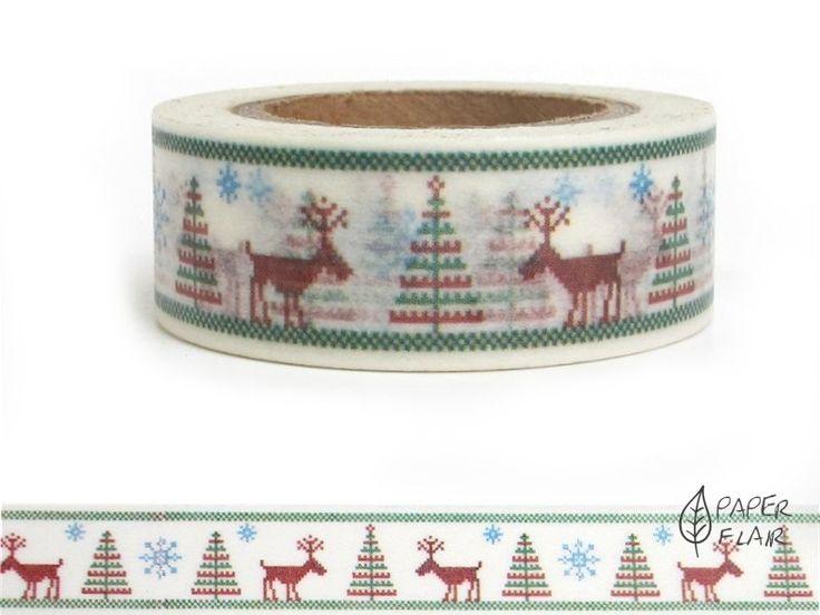 washi tape weihnachten rentiere washi tape washi and. Black Bedroom Furniture Sets. Home Design Ideas